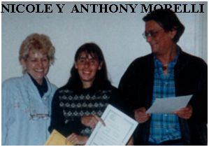 Nicole y Anthony Morelli